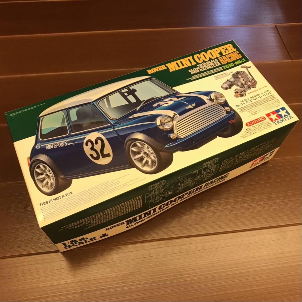 ☆新品☆ タミヤ(TAMIYA) 1/8エンジンRC ローバー ミニクーパーレーシング