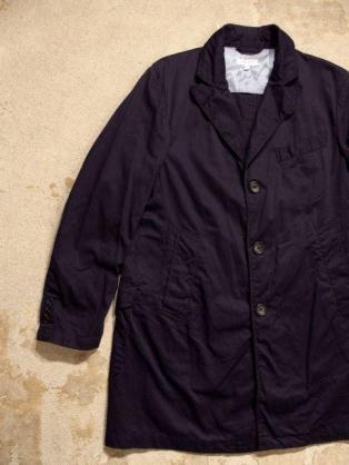 極美品 2016SS Engineered Garments Chester Coat in Navy Cavalry Twill XS