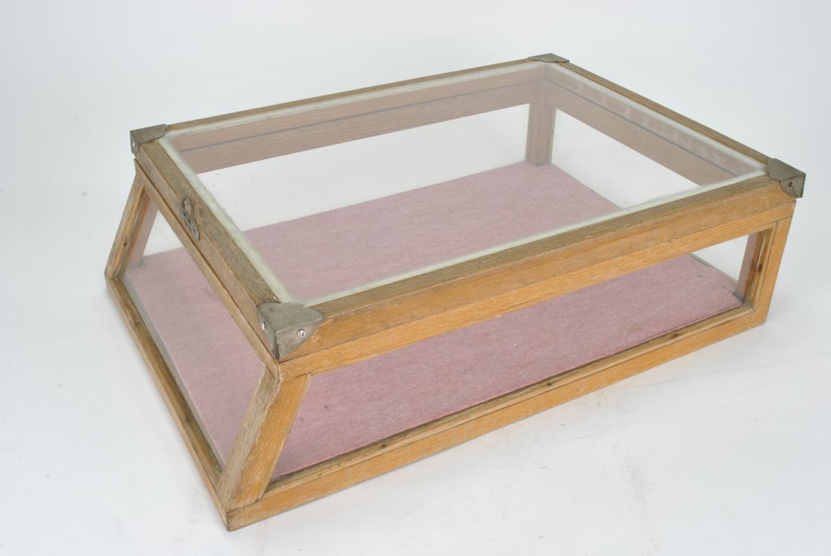 ガラスケース 木枠 ショーケース アンティーク レトロ コレクションケース 陳列ケース