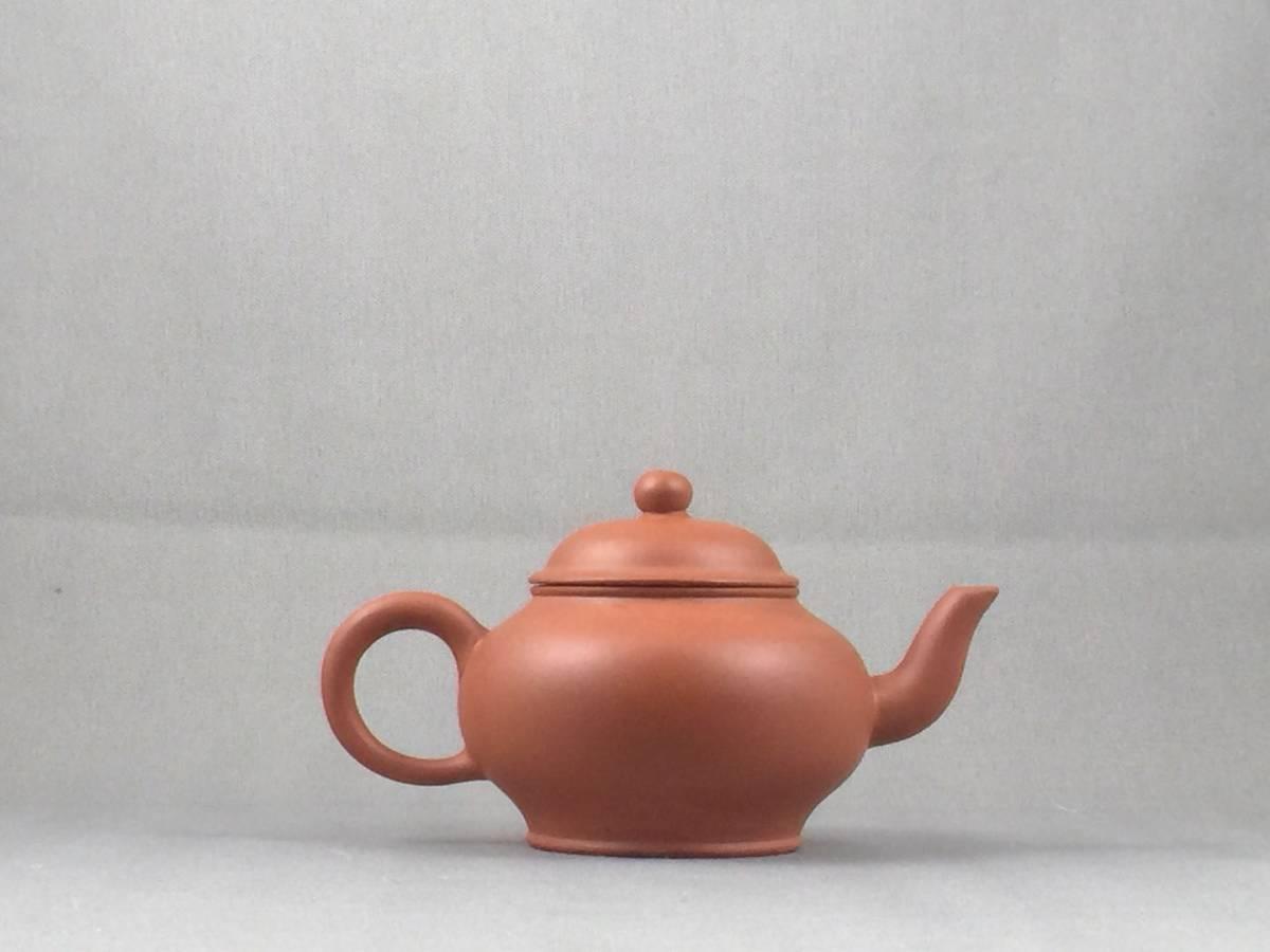 ★06/25★Ⅱ 煎茶道具 朱泥急須在銘
