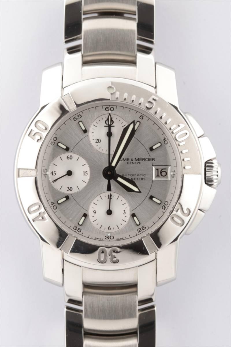 ボーム&メルシエ  BAUME & MERCIER クロノグラフ 65352 自動巻き メンズ腕時計