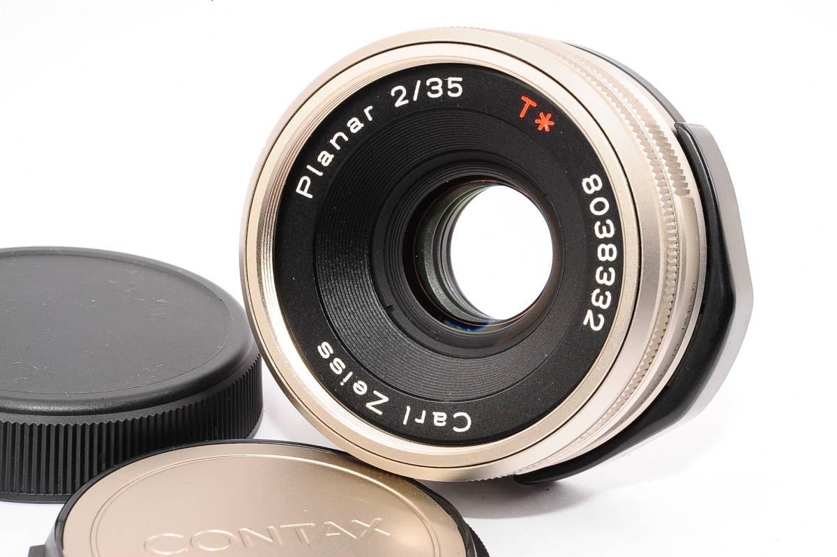 【極上品】 コンタックス カールツァイス プラナー CONTAX Carl Zeiss Planar 35mm F2 T* [8038332]