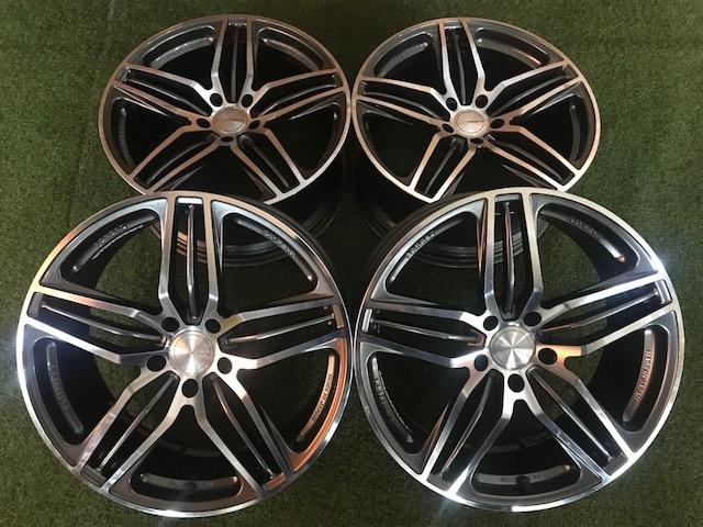 【BMW レクサス LS等】レイズ RAYS ボルクレーシング TRINITI-V 20×8.5J 9.5J +36 4本 中古 売切り!