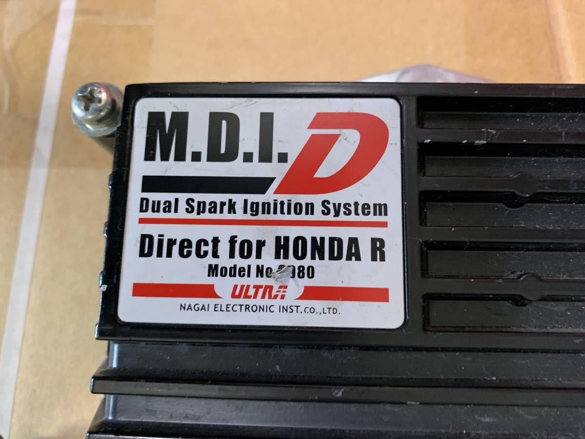 永井電子 ULTRA  M.D.I.-DUAL TYPE-R用ダイレクトイグニッションシステム No.9980  廃盤 EK9 B16Bにて使用