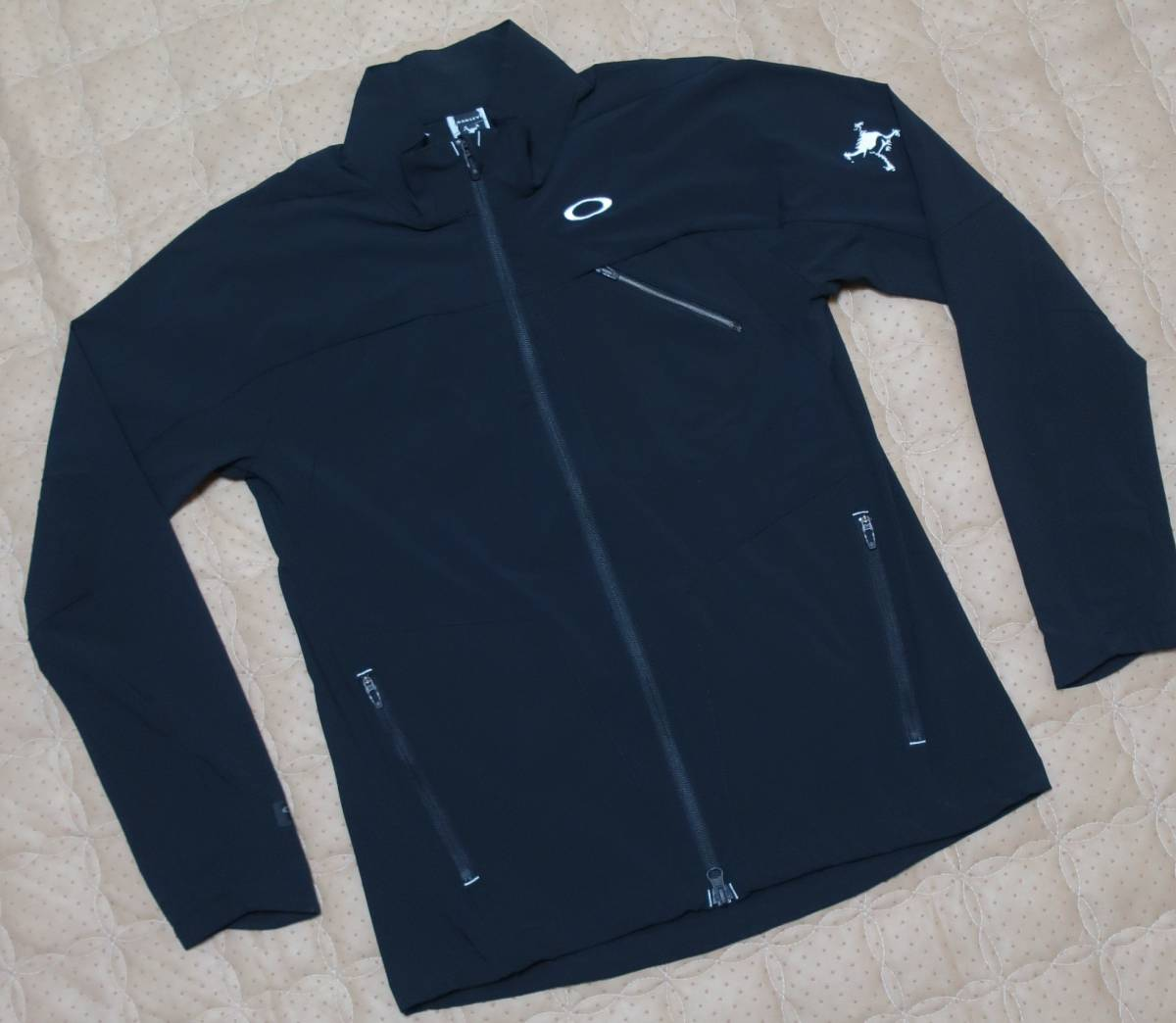 M/ (オークリー )OAKLEY GOLF ゴルフ SKULL BREATHEABLE JACKET 4WAYストレッチ BREATHEABLE ジャケット/412549JP-02E