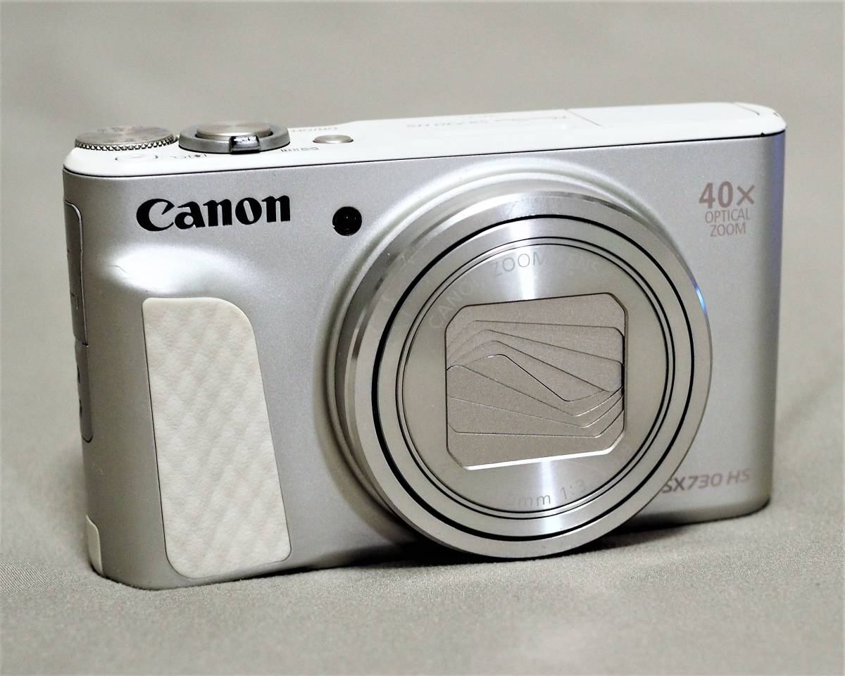 Canon キャノン コンパクトデジタルカメラ PowerShot SX730 HS シルバー 光学40倍ズーム PSSX730HS(SL)