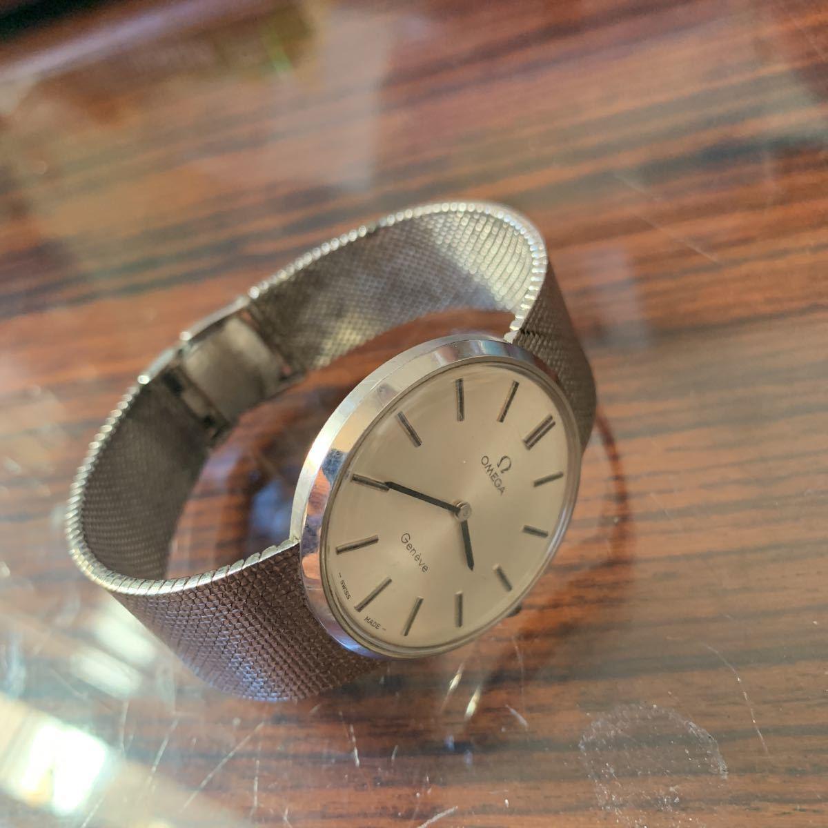 「頑固親父の品」売り切り オメガ腕時計 アンティーク 手巻き