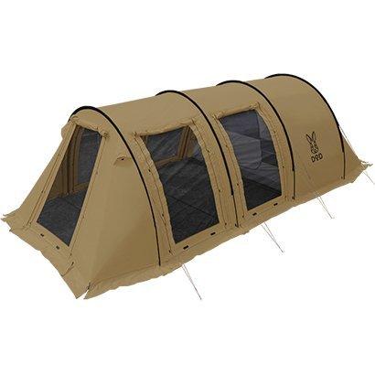 トンネルテント 2ルーム型 5人用 ファミリーキャンプ コンパクト