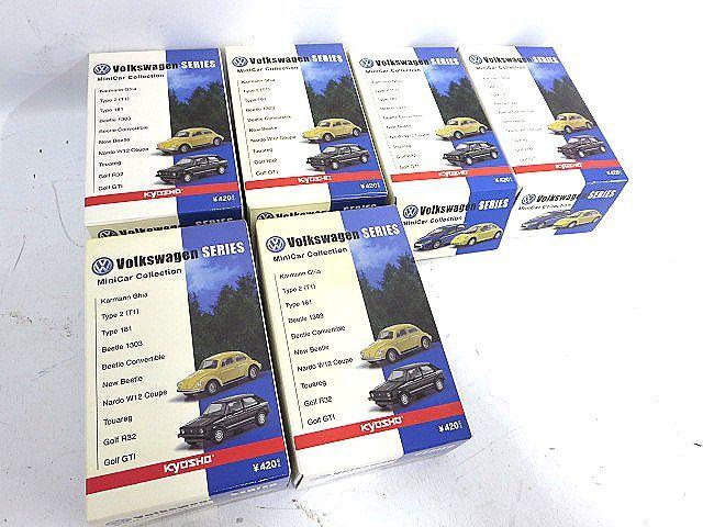 KYOSYO 京商 1:64スケール フォルクスワーゲン ミニカーシリーズ 6点セット 004312-1 y15y