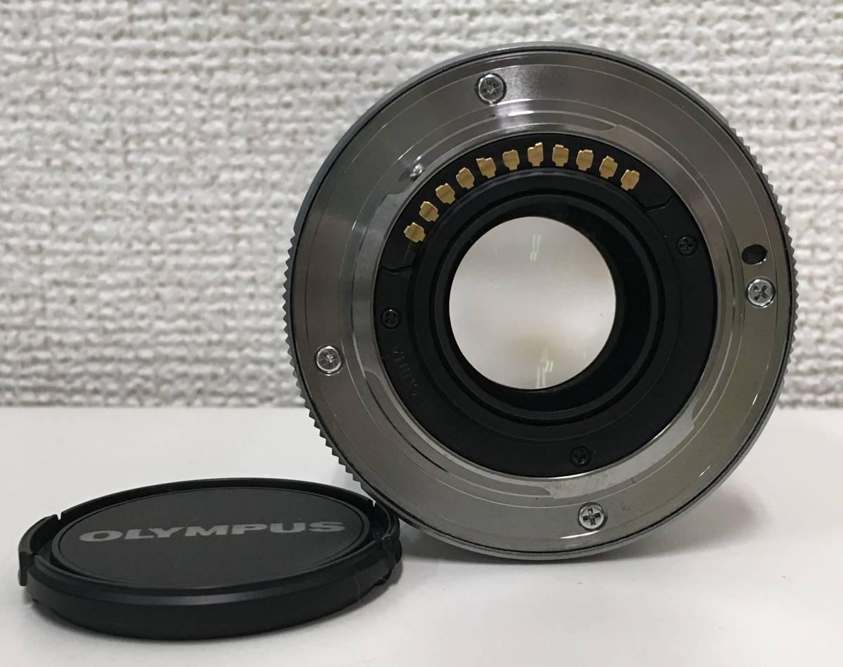 オリンパス 【OLYMPUS M.ZUIKO DIGITAL 45mm F1.8 シルバー】 レンズフィルター・レンズフード・キャップ付/A5357