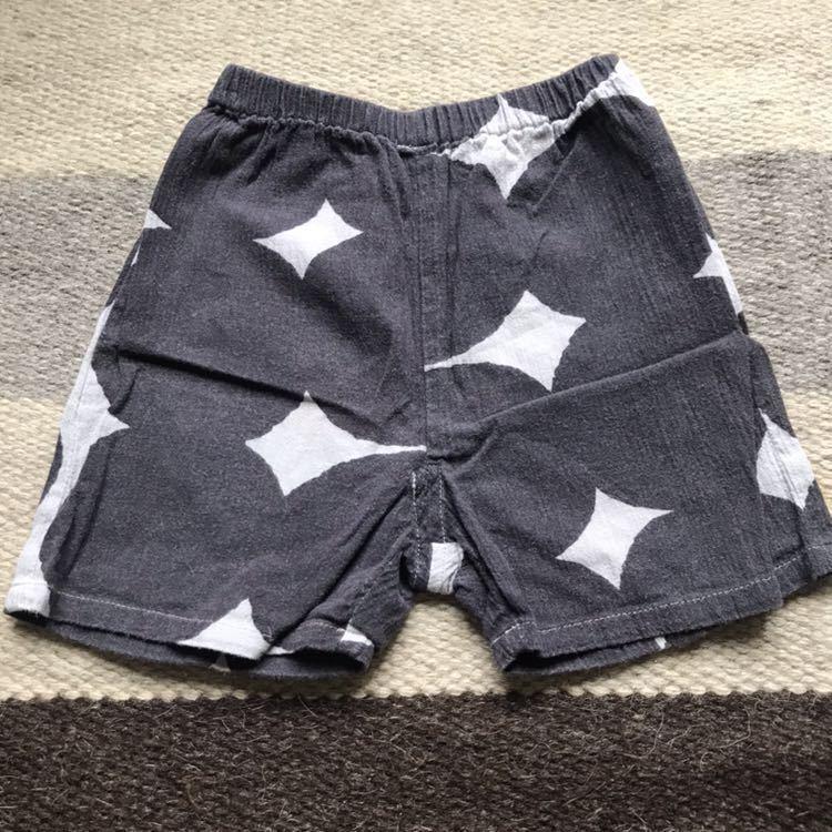 sousou ズボン 半ズボン 夏素材 男の子 女の子 クリックポスト185円 Sサイズ