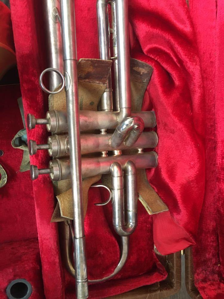 ジャンク 動作未確認 ブージー&ホークス トランペット Boosey Hawkes 607 楽器