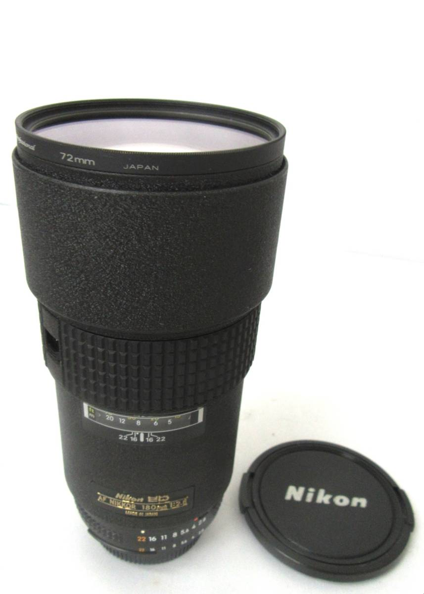 【Nikon/ニコン】ED AF NIKKOR/⑪/180mm 1:2.8/284646/防湿庫保管品