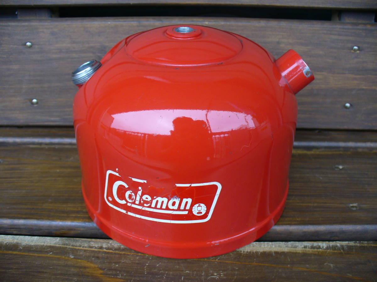Vintage コールマン 200A タンク 9/76 ホワイトボーダー Coleman