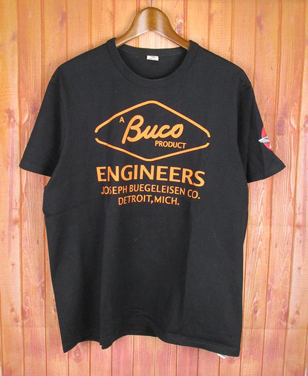 SMRKTS4463 リアルマッコイズ BUCO Tシャツ L 黒 美品