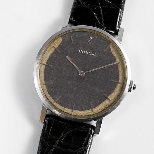1円~ CORUM コルム 57219 手巻き 腕時計 中古