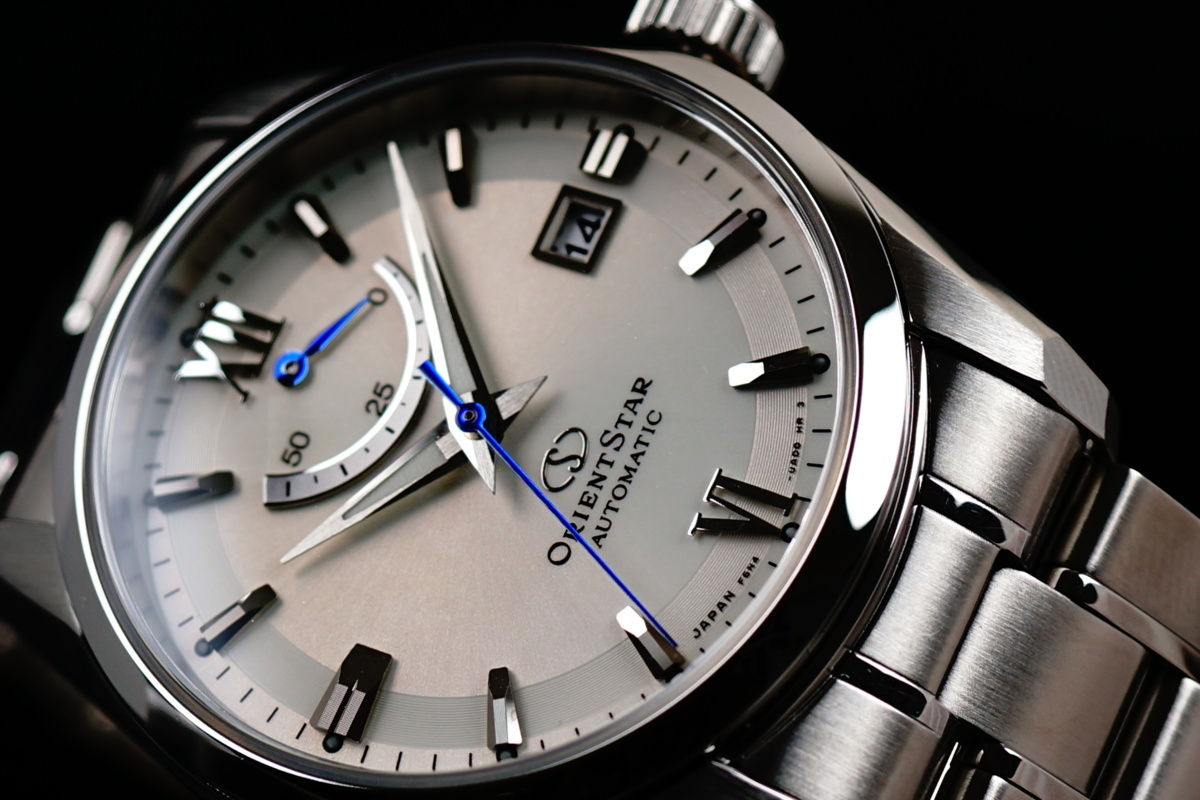 【1円】【定価6.3万円】高級品 国内正規品 オリエントスター 腕時計 美しすぎるブルー秒針 オリエントスター メンズ 自動巻き スタンダード