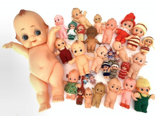 大量 キューピー人形 まとめてセット ワリコー キュピナドール 新旧 大小様々