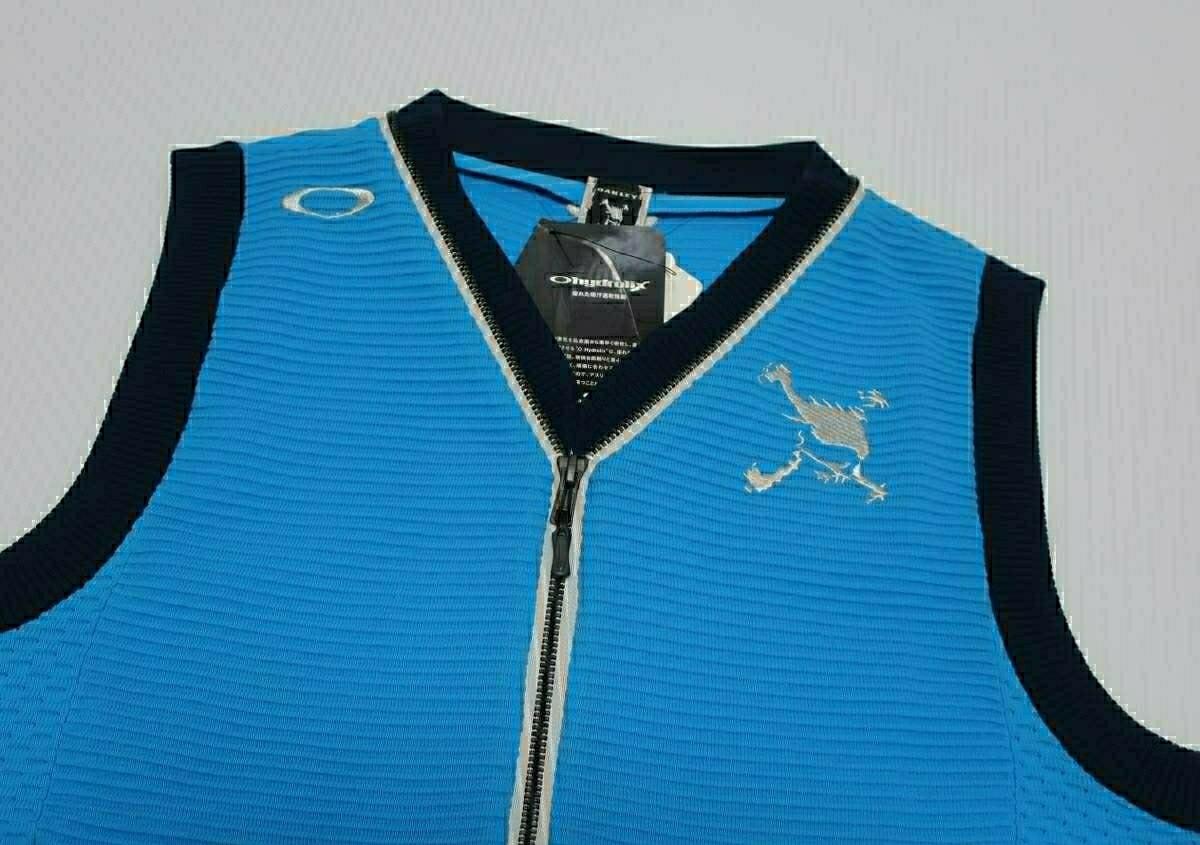 M/オークリー(OAKLEY) Skull Zip Sweater Vest スカル ジップ セーター ベスト/461591JP-61D