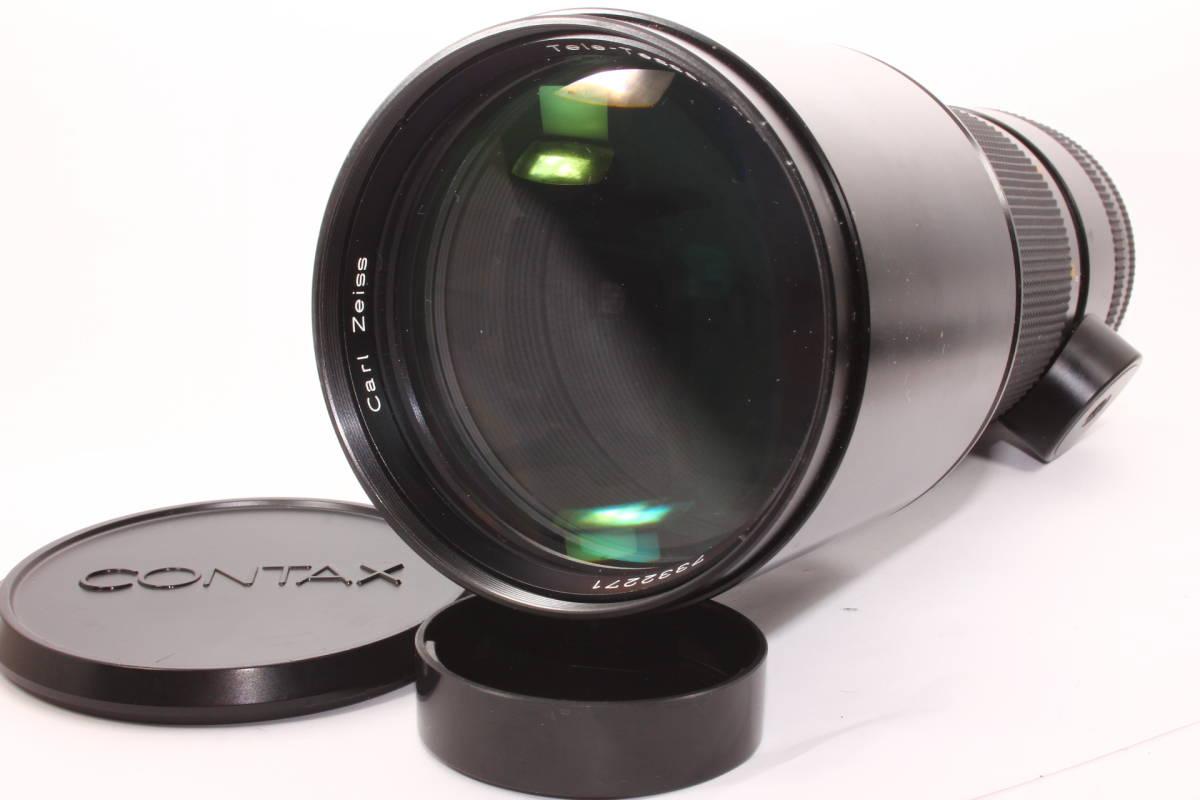 コンタックス CONTAX テレ・テッサー 300mm F4 T* MMJ CONTAX Carl Zeiss Tele-Tessar レンズ [7332271]