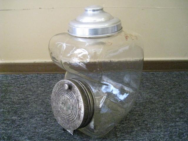 (9・18) ☆13 レトロ たばこ屋さん ガラス瓶 煙草瓶 アンティーク