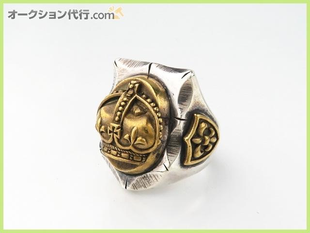 ジェラード 指輪 メキシカンリング クラウン 23号 シルバー 真鍮 JELADO MEXICAN CROWN