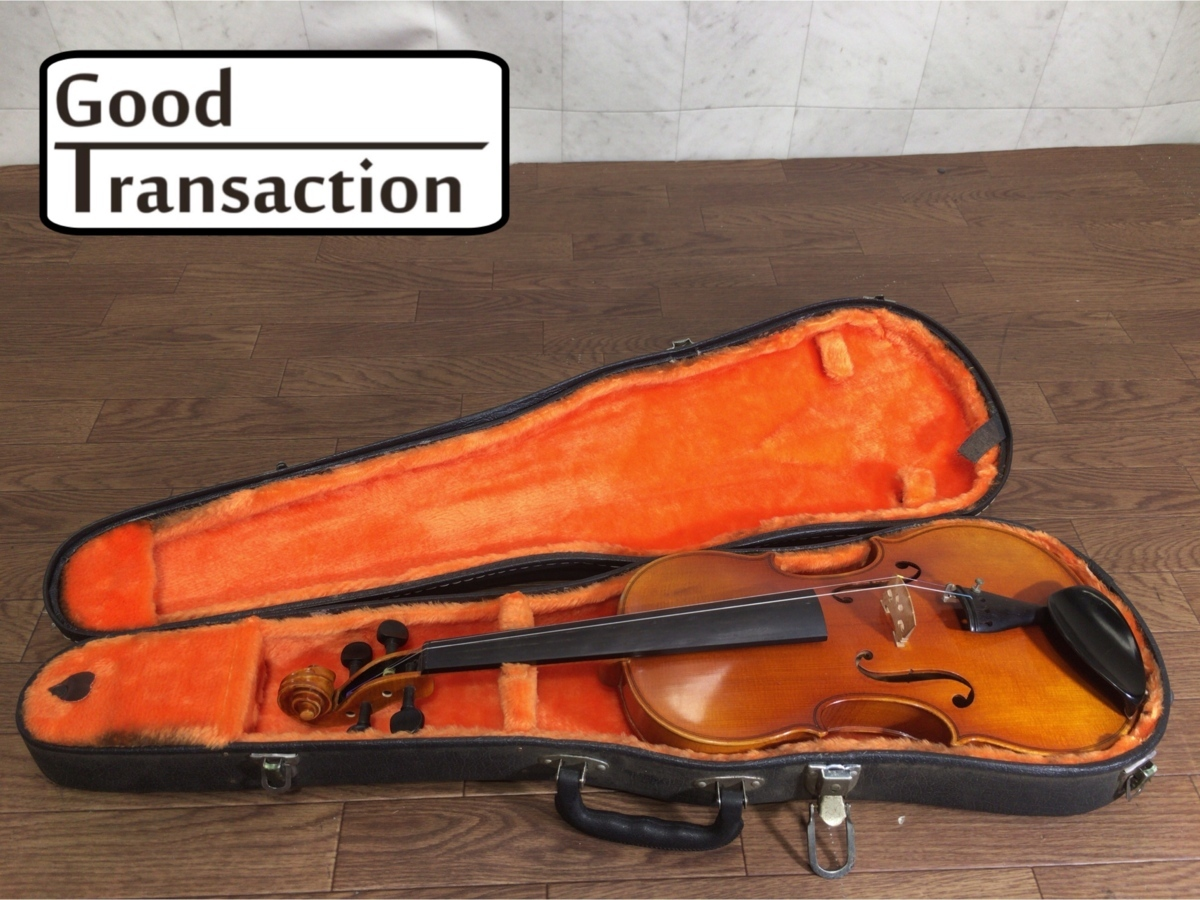 A091Y057c●ROTH INTRUMENT バイオリン 1985年製 No.47 ドイツ製