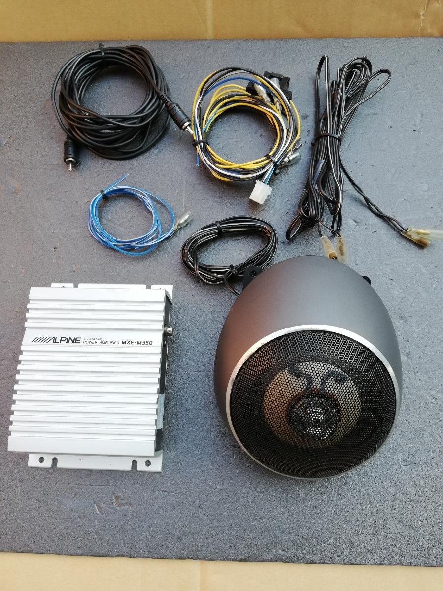 ALPINE アルパイン センタースピーカー MXE-M350