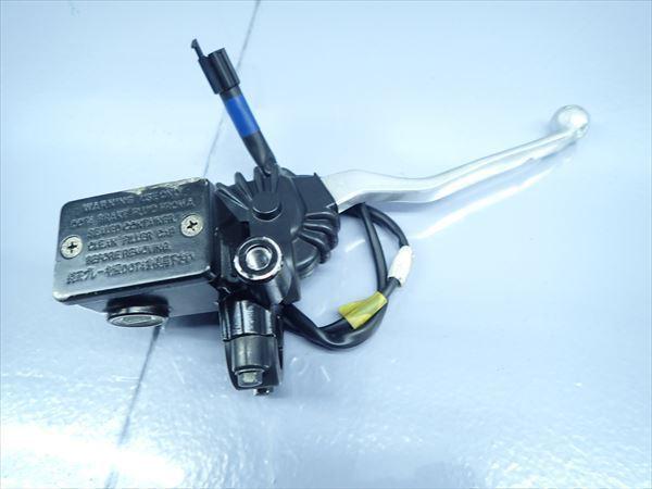 βO19 ヤマハ マジェスティS XC155 SG28J (H28年式) 純正 フロントブレーキマスターシリンダー 固着無し!レバー・タンク削れ!