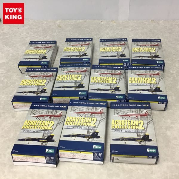 1円~ 訳あり F-toys 1/144 アクロチームコレクション2 SU-27 フランカー 他