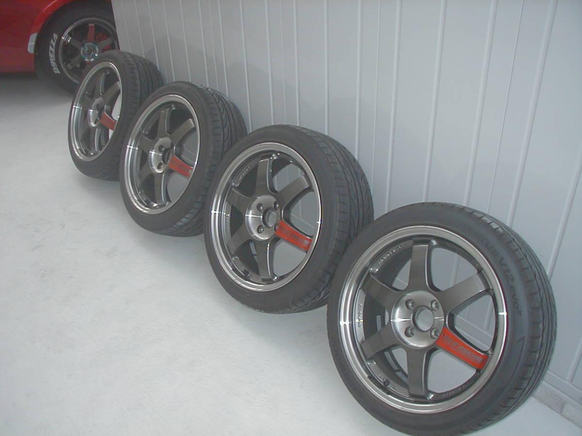 ND ロードスター ND5RC RF RAYS TE37SL タイヤ新品同様セット 希少サイズ 激安スタート