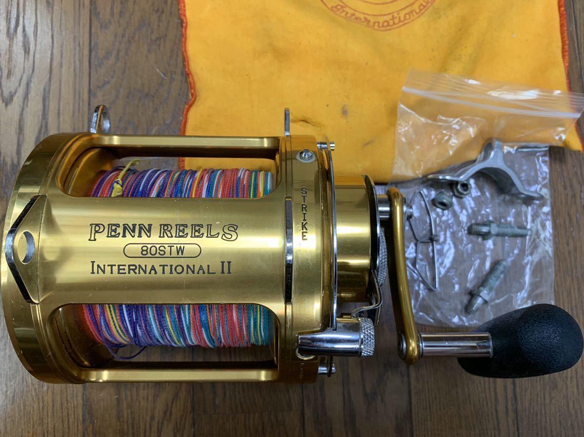 PENN REELS ペンリール INTERNATIONAL II インターナショナル 80STW